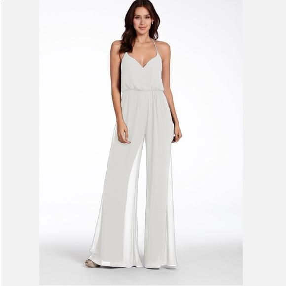 744197a3308 HayleyPaige Ivory bridesmaid jumpsuit